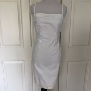 STRAPLESS COTTON LINED DRESS HUGO BUSCATI